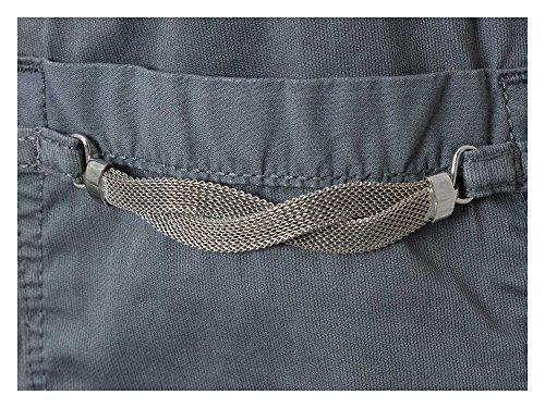 TRUSSARDI JEANS pantalón informal Mujer gris