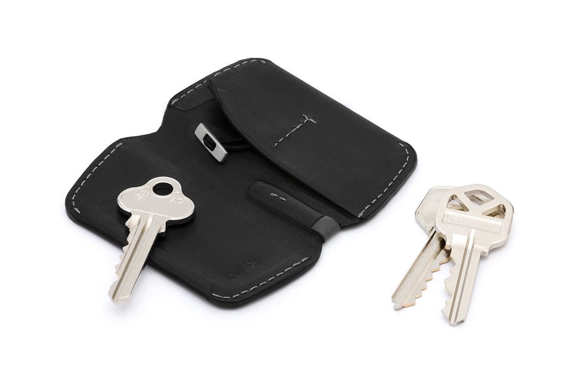 Cartera de Piel Bellroy Key Cover Black