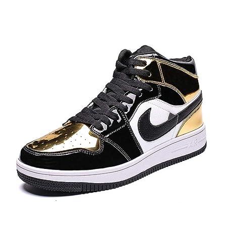 YSZDM Zapatos de Baloncesto, Zapatillas de Hombre Resistente al ...