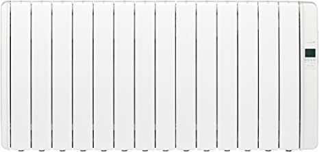 Gabarrón, DIL14GC Emisor eléctrico DILIGENS CON WIFI, Digital programable, 2000W, Blanco