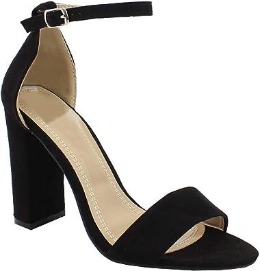 By Shoes - Sandale Haute Style Python - Femme: