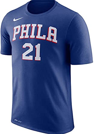 8ab319b31 Image Unavailable. Image not available for. Color  Joel Embiid Philadelphia  76ers Nike Name   Number Performance T-Shirt ...