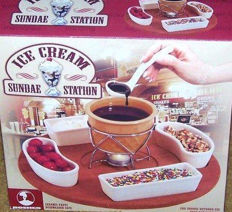 Ice Cream Sundae Station