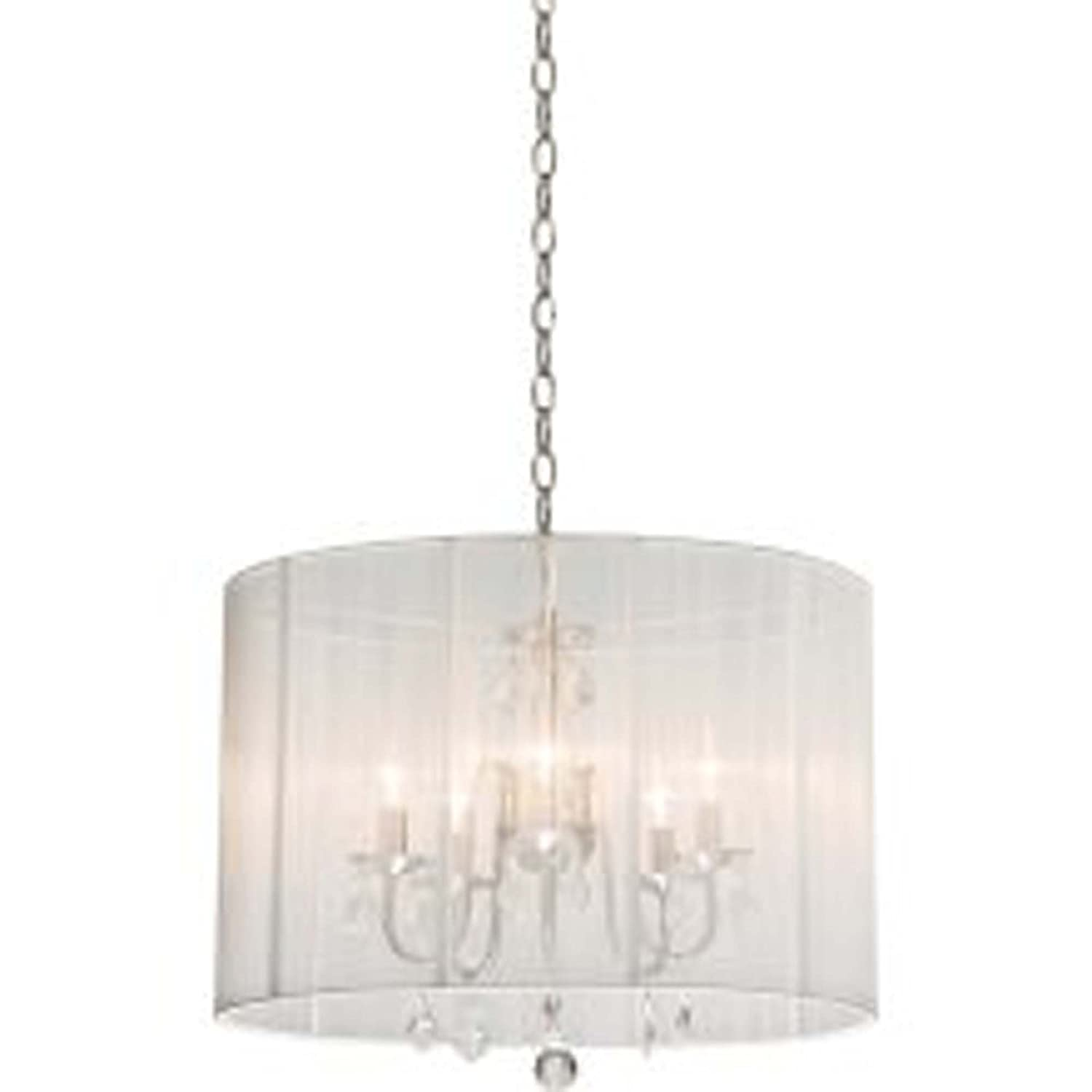 Artcraft Lighting Claremont Mini Chandelier Polished Nickel