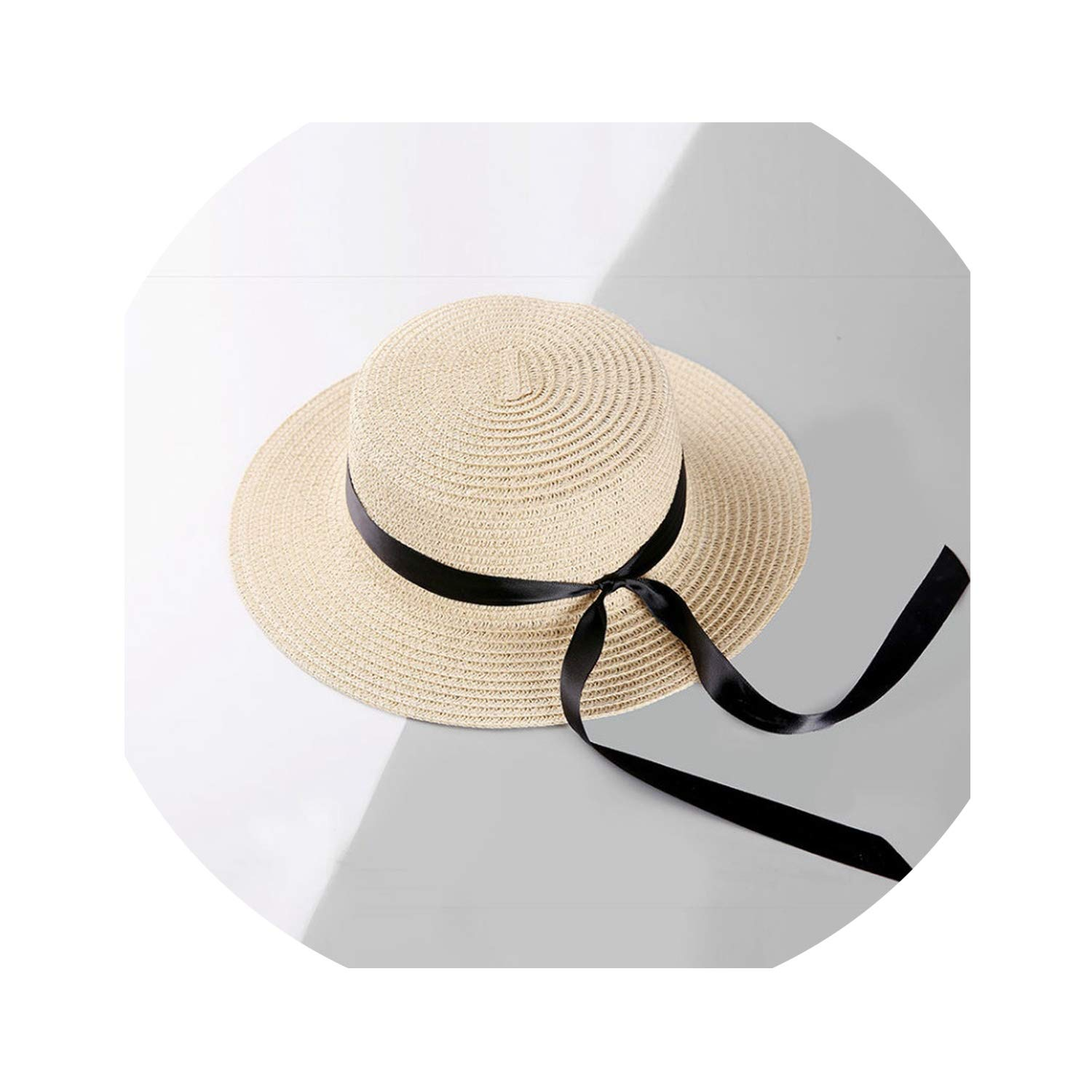 new product hot sale elegant shoes Summer Sun Hats for Women Beach Boater hat Ladies Panama ...