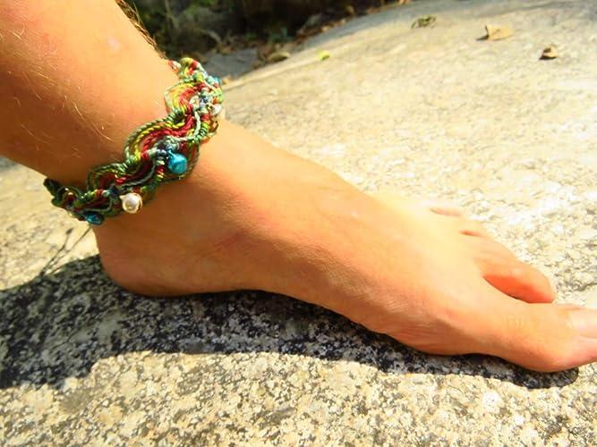 Bijoux, Montres Bracelets De Cheville En Argent Avec Spirales Et 1 Sonnette