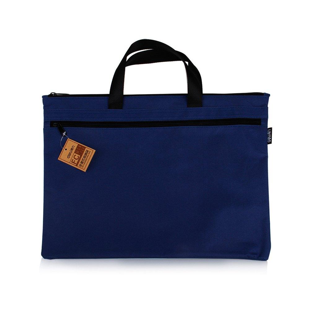 ZYCX123 39 * 30.5cm-portá til bolso de la lona de la cremallera paquete de archivos (naranja)