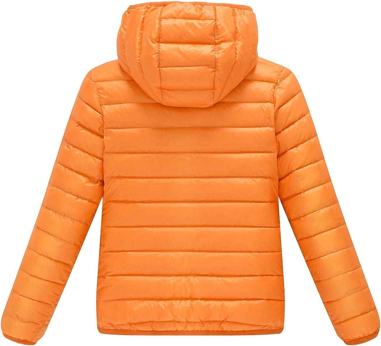 AYMA Ultra Light Girls Lightweight Packable Down Inner Jacket