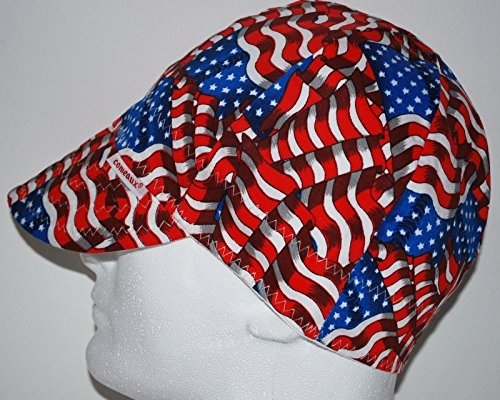 Comeaux-Caps-Reversible-Welding-Cap-Stars-Stripes-Size-6-78