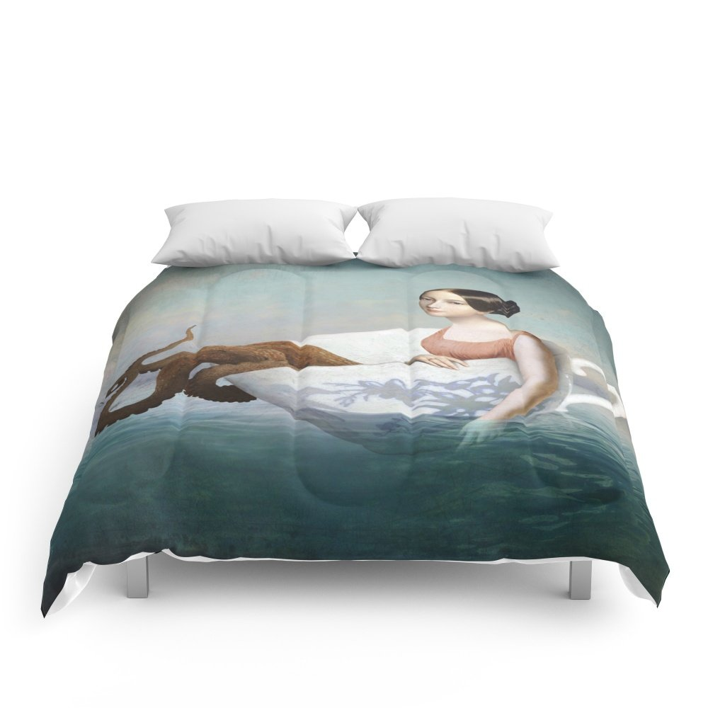 Society6 Afloat Comforters King: 104'' x 88'' by Society6