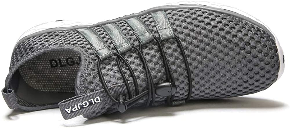 DLGJPA Mens Lightweight Quick Drying Aqua Water Shoes Athletic Sport Walking Shoes