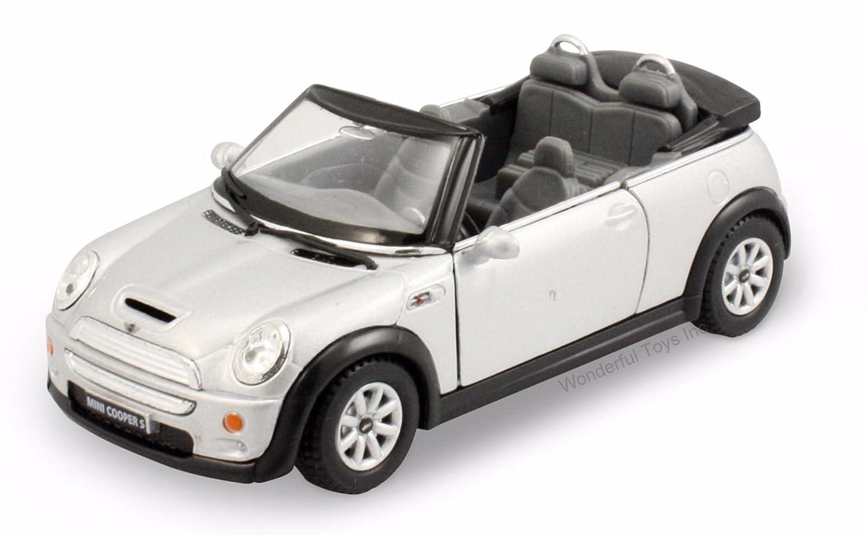 Mini Cooper Weight >> Amazon Com Kinsmart Mini Cooper S Convertible 1 28 Scale 5
