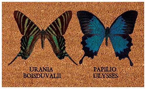 Esschert Design Coir Butterflies Doormat