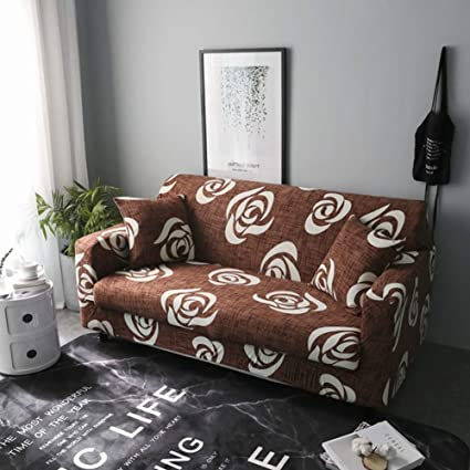 Tremendous Amazon Com Berteri Printed Couch Cover Elastic Sofa Gmtry Best Dining Table And Chair Ideas Images Gmtryco