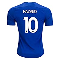 2017/2018 Mens Hazard 10 Chelsea Home Soccer Jersey Men's Color Blue Size S