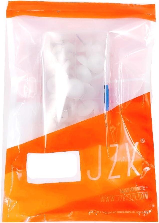 plastica rotondi piedini con chiodo per spostare mobili e protezione pavimento piedini per tavolo e sedie 24x /ø21mm con custodia JZK 40x /ø16mm