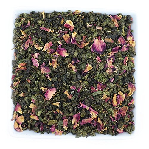 Tealyra - Electric Grape Oolong - Grapes - Hibiscus - Rose Petals - Loose Leaf Tea - Medium Caffeine - 112g (4-ounce)