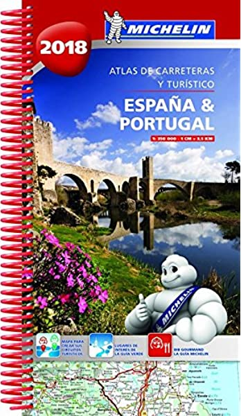 España & Portugal 2018 Atlas de carreteras y turístico Atlas de carreteras Michelin: Amazon.es: MICHELIN: Libros
