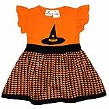 Unique Baby Girls Witch Hat Halloween Dress (7)