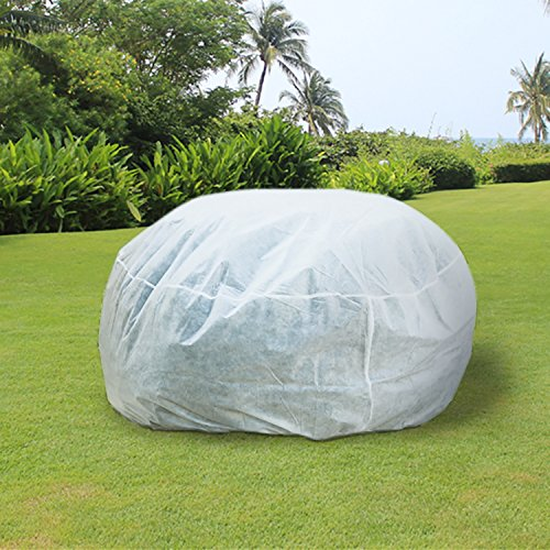 """UniEco 84""""Hx84'Dia Plant Cover Plant Protection Cover Protection from Small Insects Season Extension 0.9oz"""