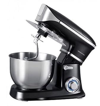 Robot de cocina Batidora Amasadora 1300 W 6 Velocita 6,5L amasador herenthal Mod