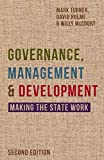 Cover of Governance, Management and Development: Making the State Work