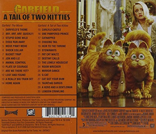 Garfield A Tail Of Two Kitties Garfield A Tale Of Two Kitties Amazon Com Music