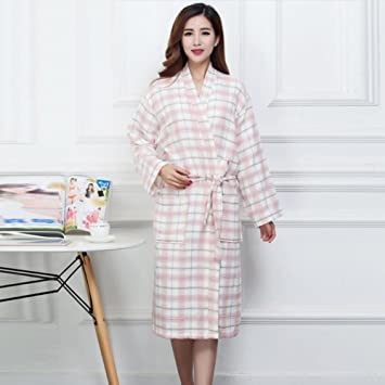 Amazon.com: Bathrobe Women\'s bathrobes plush soft wool Traditional ...