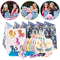 Tulatoo Unicorn Party Supplies and Party Favors for Kids