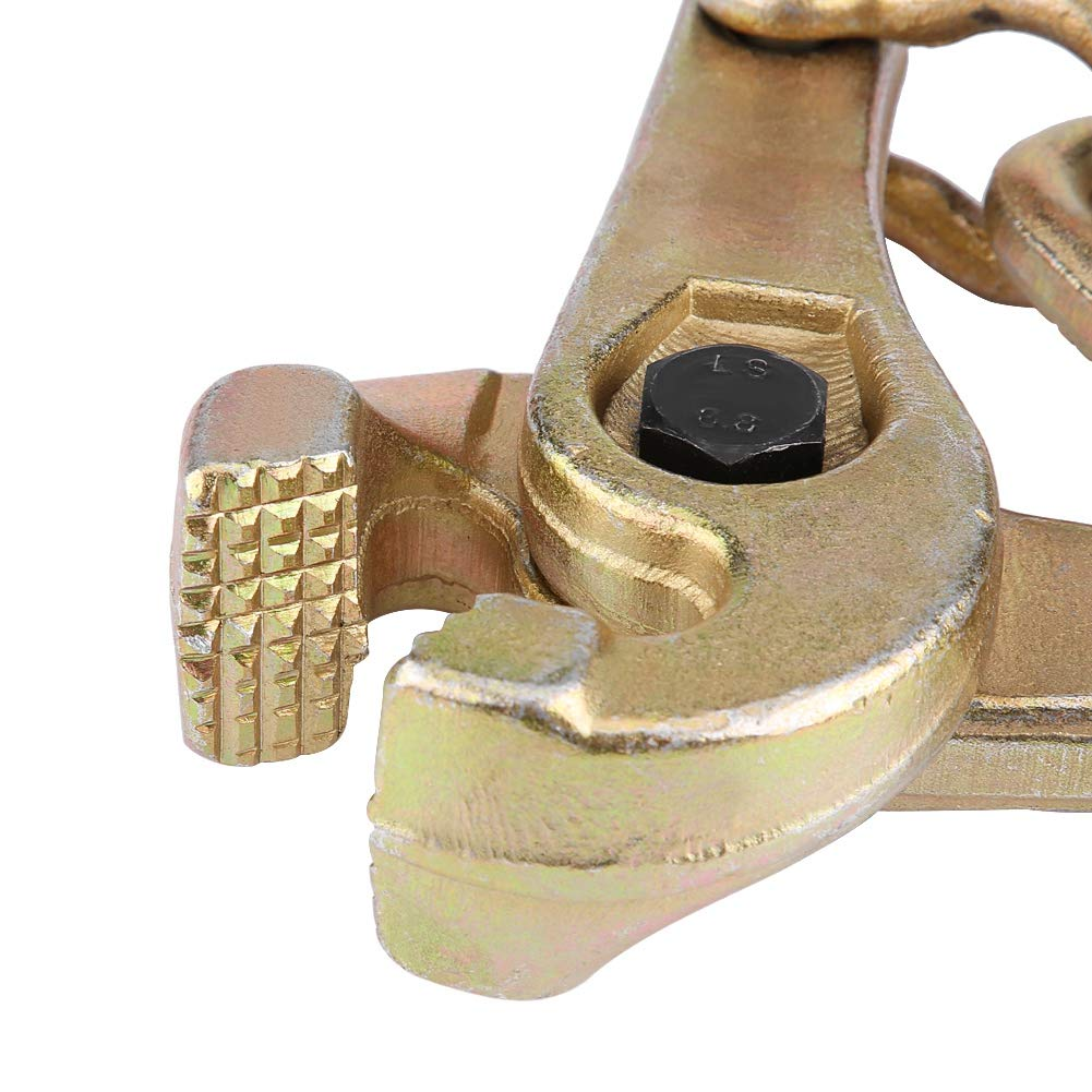 Estink 3 Ton Self-Tightening Scissor Clamp,Serrated Jaw Pull Clamp for Body Frame Repair by Estink (Image #7)