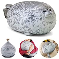 JoinHome Cute Sea Lion Plush Toys 3D Novelty Throw Pillows Soft Seal Plush Stuffed Plush Housewarming Party Hold Pillow…