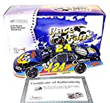 'AUTOGRAPHED 2005 Jeff Gordon #24 Children''s Foundation MIGHTY MOUSE (Race Fans Only) Blue Color Chrome Signed Action 1/24 NASCAR Diecast Car with COA (1 of only 3,504 produced!) '