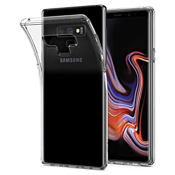 Spigen [Liquid Crystal] Galaxy Note 9 Case Cover Compatible  with/Replacement for Samsung Galaxy Note 9 (2018) - Crystal Clear
