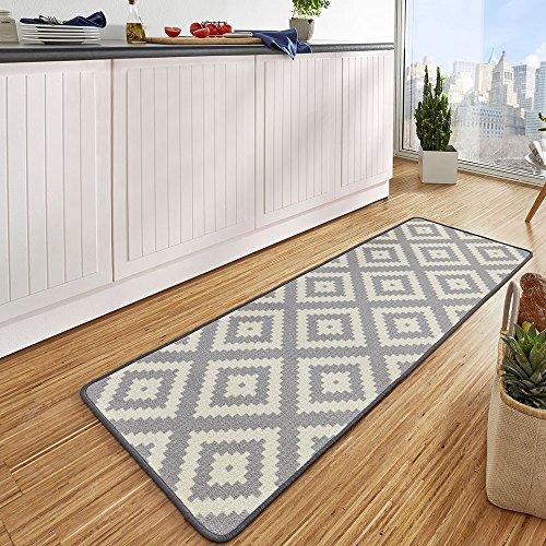 Amazon.de: Bavaria Home Style Collection Raute - in grau - Küchen ...