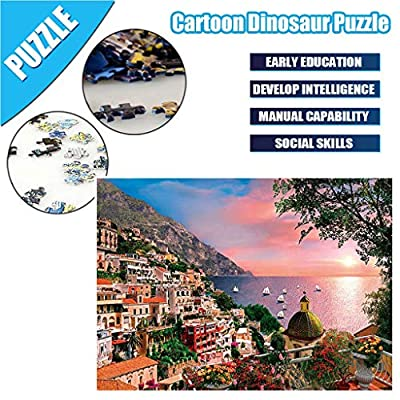 Puzzles For Adults 1000 Piece,Lanyun Adults Puzzles 1000 Piece Large Puzzle Game Interesting Toys Personalized Gift,Landscape Puzzles, Kids Educational Toy Set Paper Puzzle Brain Iq Developing Toys: Beauty