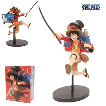Amazon Com Anime One Piece Monkey D Luffy Running Ace Sabo