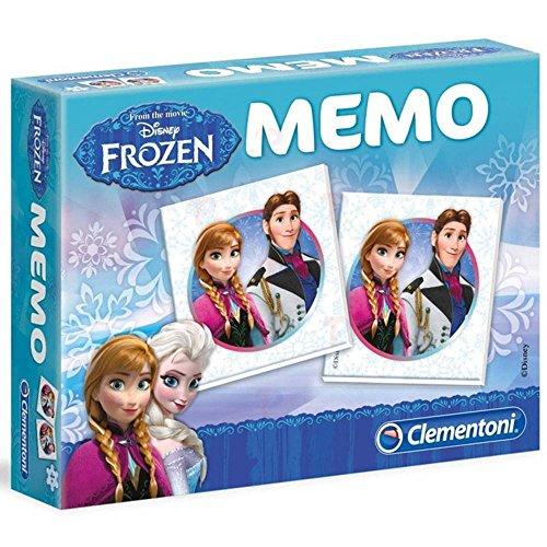 Disney Frozen - Memo Spiel, Mini Schultertasche und Portmonee; hellblau, rosa