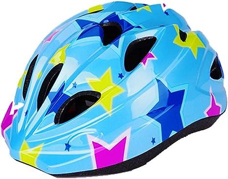 XXLLQ Casco Bicicleta Bebe Helmet Bici Ciclismo para Niño - Cascos para Infantil - Bici Casco para Patinete Ciclismo Montaña Carretera Skate Patines monopatines(2-12 años de Edad): Amazon.es: Deportes y aire libre