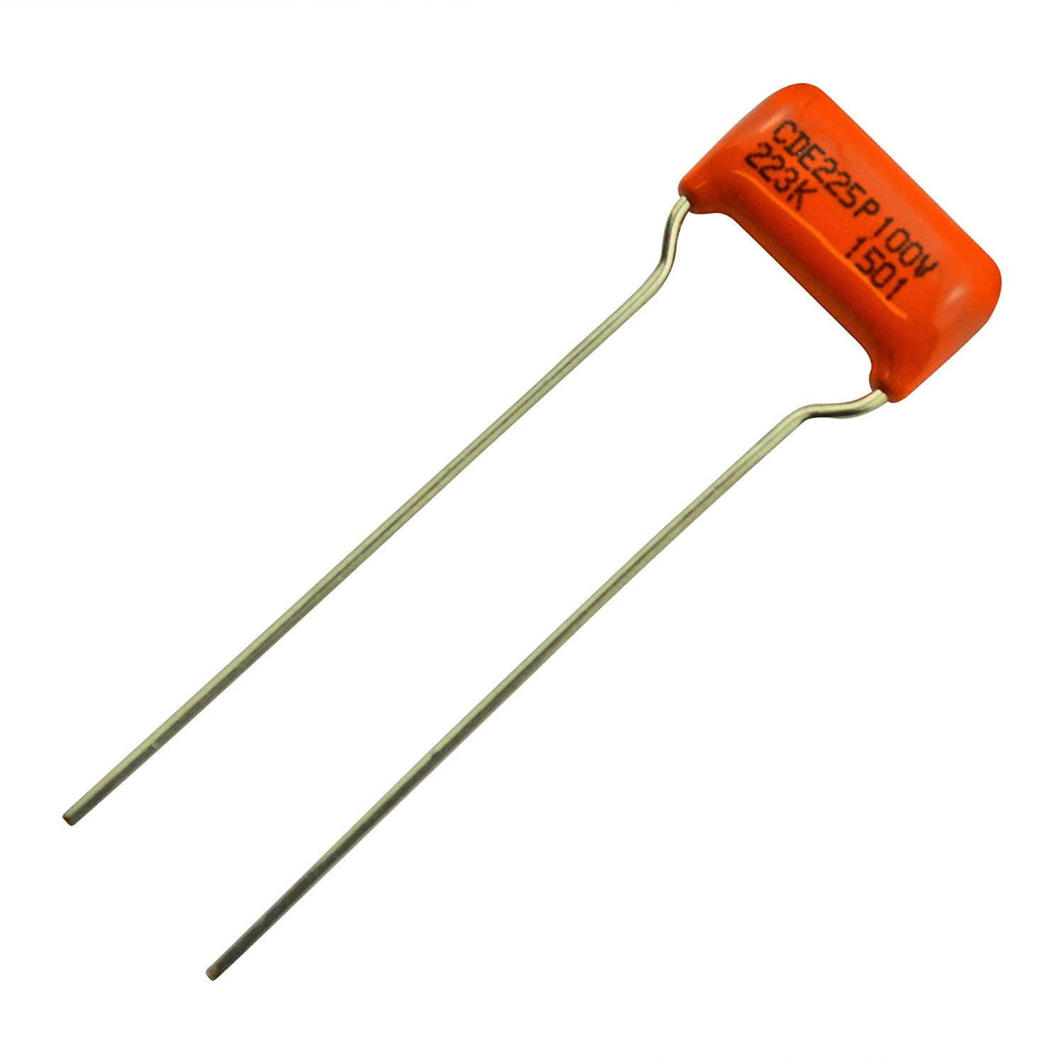 Sprague - Capacitor condensador para guitarra (0,022uf), color naranja: Amazon.es: Instrumentos musicales