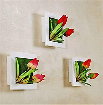 Buy Raajaoutlets Plastic Artificial 3d Wall Hanging Frame Photo