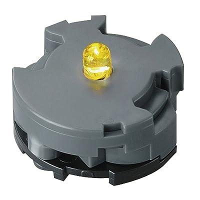 Bandai 258254 LED Unit (Yellow) for Plastic Model Kit: Toys & Games