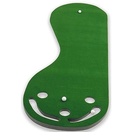 Amazon.com : Practice Putting Green, Par 3, Indoor Golf Mat Training ...