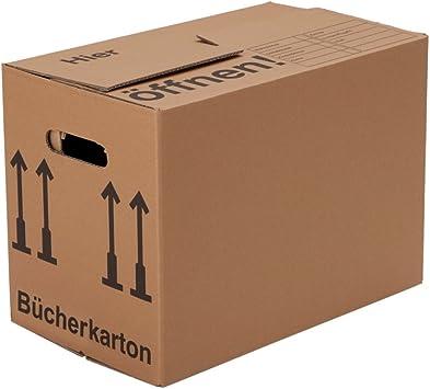 BB-Verpackungen, Cajas para libros, 10 piezas, (profesional ...