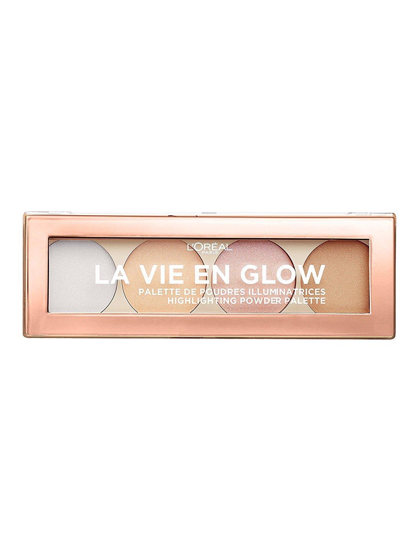 L'Oréal Paris La Vie en Glow Palette Illuminanti Viso, Texture Leggera, Facile da Applicare e da Stendere, 02 Eclat Doré L' Oréal Paris 3600523571864