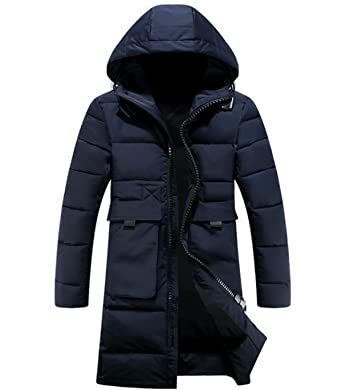 Bekleidung LINYI Herren Baumwolle Daunenjacke Lange Jacke