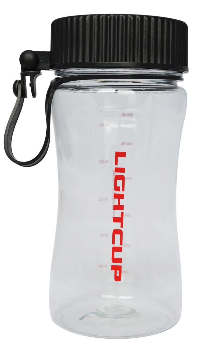 Solar Powered Water Bottle. Excellent for Night Drink and Light. Black Color Cap.