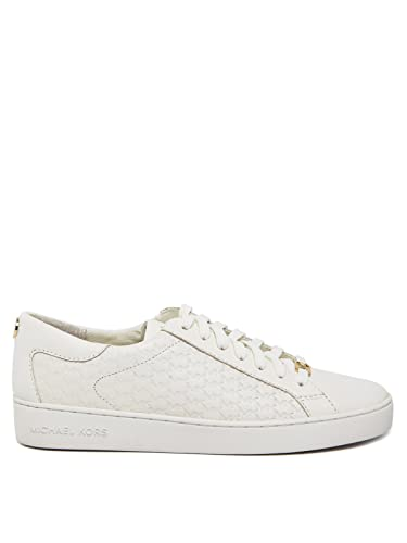 ef34edc787d2d Michael Kors Mkors Colby Sneaker, Baskets Femme, Weiß (Optic White 085),