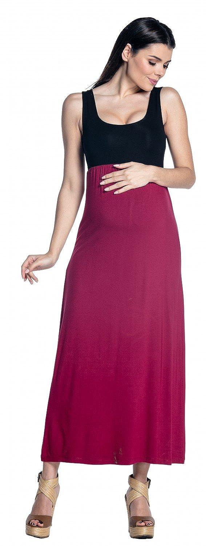 Zeta Ville - Prémaman abito senza maniche plissé - scollo rotondo - donna - 292c maternity_dress_292