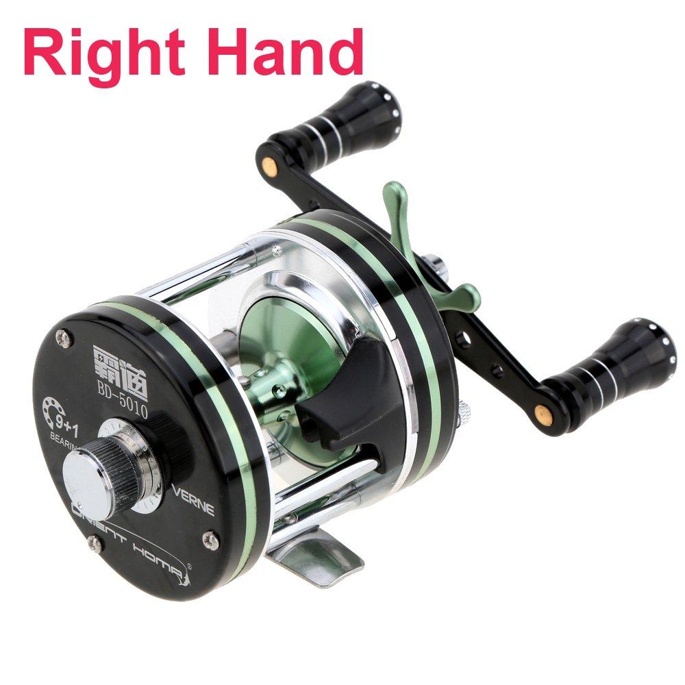 1pc 5 : 2 : 1 9 + 1bb Right Hand釣りリールBaitcasting海水海釣りリールBait Casting   B01M6D2U44