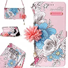 NEXCURIO Samsung Galaxy Note 8 Wallet Case with Strap Card Holder Folding Kickstand Leather Case Flip Cover for Samsung Galaxy Note 8 - NEYHU10299#5